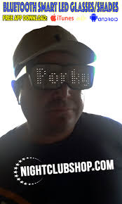 chemion led smart glasses nightclubshop com