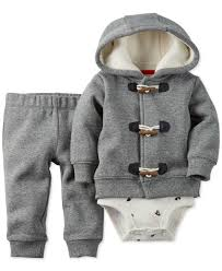 carter u0027s baby boys u0027 3 piece jacket bodysuit u0026 pants set