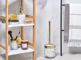 badezimmer zubehör marmoroptik gold huncal ch