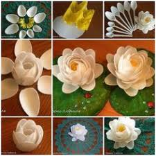 How To DIY Waterlily Flower From Plastic Spoon Cool Creativity