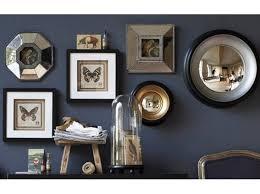 decoration bureau style anglais decoration mur avec miroir