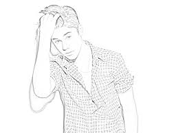 Justin Bieber Coloring Pages To Print At