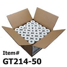 Verifone Contact Number Helpdesk by 50 Thermal Paper Rolls 2 1 4 X 50 Verifone Vx520 First Data Fd400