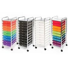 Seville Classics 10 drawer Organizer Rolling Cart Free Shipping