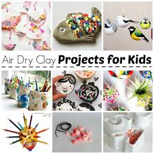 Air Drying Clay Projects