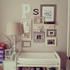 Incorporate Shelf Into Wall Collage So Cute For A Baby Room