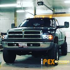 new 1994 2001 dodge ram 1500 2500 3500 halo projector led