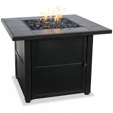 picture of blue rhino uniflame ceramic tile lp gas pit table