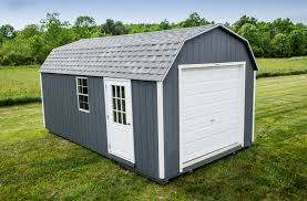 Gambrel Shed Plans 16x20 by The Gambrel Garage Prefab Garage Sheds Woodtex