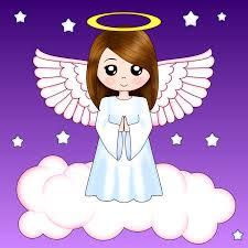Cute Angel Angeles Unicornios Y Sirenas Ángeles Y Dibujos