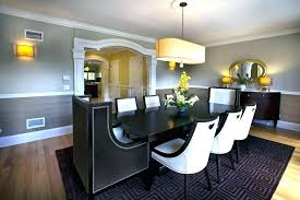 Dining Room Chair Rails Rooms With Rail Extraordinary