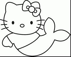 Fantastic Printable Hello Kitty Coloring Pages With Christmas