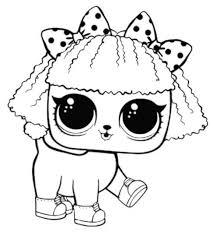 Pets Coloring 15 Free Printable Lol Surprise Pet Pages 578