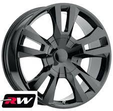 100 20 Inch Truck Rims Inch X9 RW Tahoe RST 18 Wheels For GMC Gloss Black