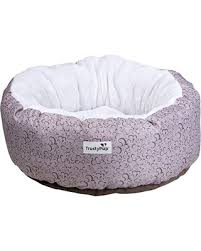 amazing deal on trustypup nuzzle bucket round pet bed with ecorest