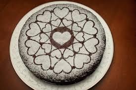 Easy Fancy Flourless Chocolate Cake