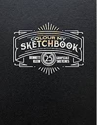 Colour My Sketchbook Adult Colouring Book