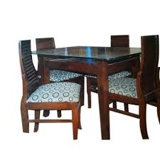 4 seater dining table set at rs 20000 set royal decor pune
