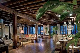 100 Industrial Lofts Nyc Gerard Butlers Rustic Chelsea Loft With Baroque Flair Wants