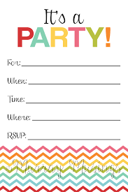 Blank Party Invitations Will Give You Ideas How To Make Fantastic Invitation 11