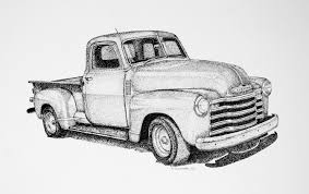 100 Truck Drawing Pickup Truck Sketch Gallery Auto Art Chevy_truck Pick Up