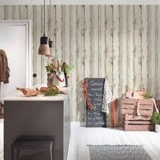 a s création vliestapete il decoro tapete in vintage holz optik braun creme schwarz
