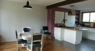 cuisine ouverte sur salle a manger rénovations d un salon salle à manger et cuisine agence de clamart