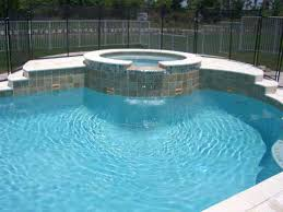 pool tile colors garden design