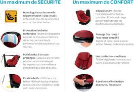 reglementation siege auto axissfix le siège isofix qui pivote sur 360 challenges fr