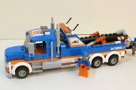 Rob A Reviews LEGO City 2014 60056 Tow Truck - YouTube