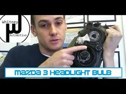 mazda3 headlight bulb replacement how to prevent repeat failure