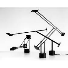artemide tizio led table l black a009210 diffusione luce srl