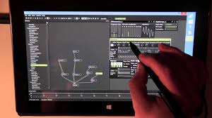 AudioMulch MS Surface Pro Tablet Music Production Demo