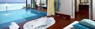 100 Kihavah Villas Maldives Villa In Sunset Overwater Pool At Anantara