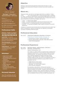 Business Owner Administrator Director Educator Enterpreneur Resume Samples