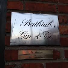 Bathtub Gin Nyc Menu by The Lush Chef Sipping In Seattle
