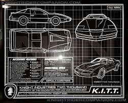 "K.I.T.T. Vs. GOLIATH"" 8×10 METALLIC PHOTO SET 