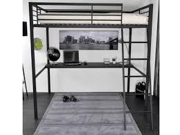 chambre avec lit mezzanine 2 places lit a etage lit 140x190 sommier literie