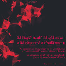 The Immortality Of The Soul Nainam Chindanti Shastrani ReSanskrit