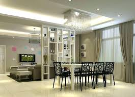 Dining Room Partition Design Living
