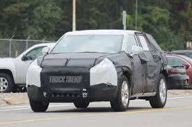 SPIED: Chevrolet Applies Blazer Name To Crossover Expected For 2019