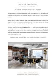 104 Zz Architects And The Ever Lasting Luxurious Apartment By Maison Valentina Issuu