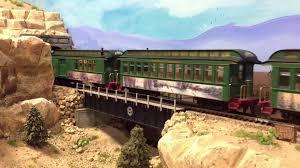 Thomas Kinkade Christmas Tree Wonderland Express by Merry Christmas And The Thomas Kinkade Steam Train Youtube