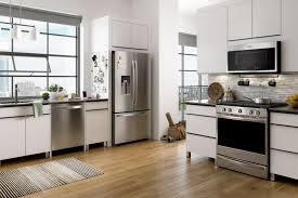 Fingerprint Resistant Stainless Steel Appliance Finishes Keep Your Kitchen Easy To Clean