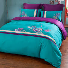 Turqoise bedding purple and turquoise forter sets turquoise