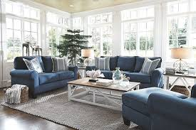 Aldy Chair Ashley Furniture HomeStore With Regard To Blue Sofa Plans 18