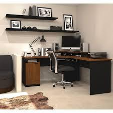 bestar hton 1 drawer l shaped corner workstation tuscany