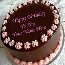 write name on chocolate birthday cake 2 wishes cakes for wife and best happy birthday cake