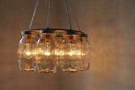 Awesome DIY Rustic Chandelier Lighting Diy Wedding Mason Jar