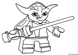 Wars Lego Coloring Page Funycoloring